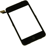 iPod Touch 2nd Gen Front Panel Digitizer Assembly