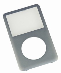 iPod Classic Front Cover Panel Silver