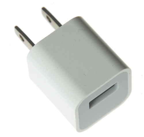 usb power adapter for iphone and ipod. Black Bedroom Furniture Sets. Home Design Ideas