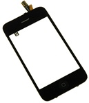 iPhone 3GS Full Front Panel Glass Digitizer Assembly