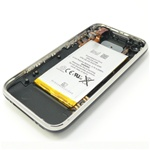 iPhone 3G Complete Rear Panel Back Cover Assembly Black 16GB