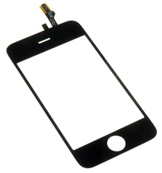 iPhone 3G Front Panel Screen Digitizer with Glass