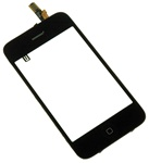 iPhone 3G Full Front Panel Glass Digitizer Assembly