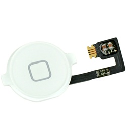 iPhone 4 Home Button Assembly White