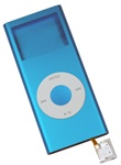 iPod Nano 2nd Gen Shell Case Assembly Blue