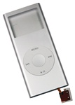 iPod Nano 2nd Gen Shell Case Assembly Silver