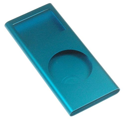 ipod nano 2nd gen shell case blue. Black Bedroom Furniture Sets. Home Design Ideas