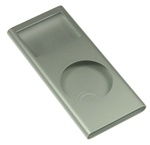 iPod Nano 2nd Gen Shell Case Silver