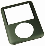 iPod Nano 3rd Gen Front Cover Panel Black
