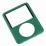 iPod Nano 3rd Gen Front Cover Panel Green