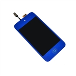 iPod Touch 4th Gen 4 4G Front Glass Panel Digitizer LCD Screen Assembly Blue with Home Button