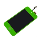 iPod Touch 4th Gen 4 4G Front Glass Panel Digitizer LCD Screen Assembly Green with Home Button