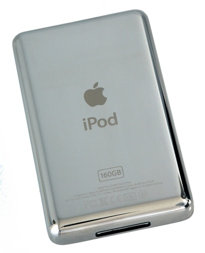 ipod classic thick 160gb rear panel back cover. Black Bedroom Furniture Sets. Home Design Ideas