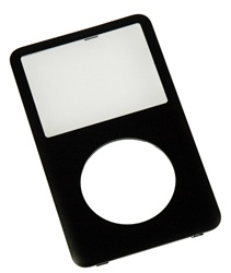 6th Generation iPod Classic Front Panel Charcoal Black