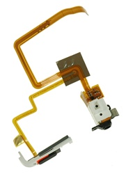 iPod Video Thick Headphone Jack & Hold Switch Black