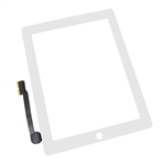 iPad 4 Front Panel Touch Screen Glass Digitizer White Replacement