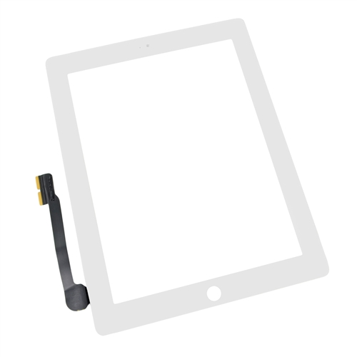 IPad 3 Front Panel Touch Screen Glass Digitizer White Replacement