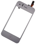iPhone 3G Full Front Panel Glass Digitizer Assembly in White