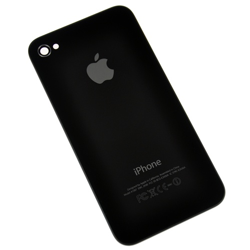 reputable site 7f4dd 9f3b6 iPhone 4S Rear Panel Back Cover Housing Black