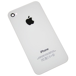 iPhone 4S Rear Panel Back Cover Housing White