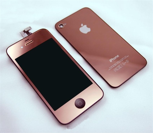 iphone 4 rose gold iphone 4 lcd digitizer back housing conversion 6210