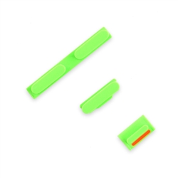 iPhone 5C Case Button Set Green