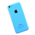 iPhone 5C Rear Case Blue