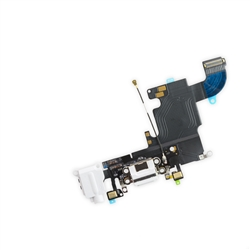 iPhone 6S Lightning Connector and Headphone Jack White
