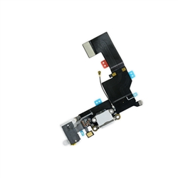 iPhone SE Lightning Connector and Headphone Jack White